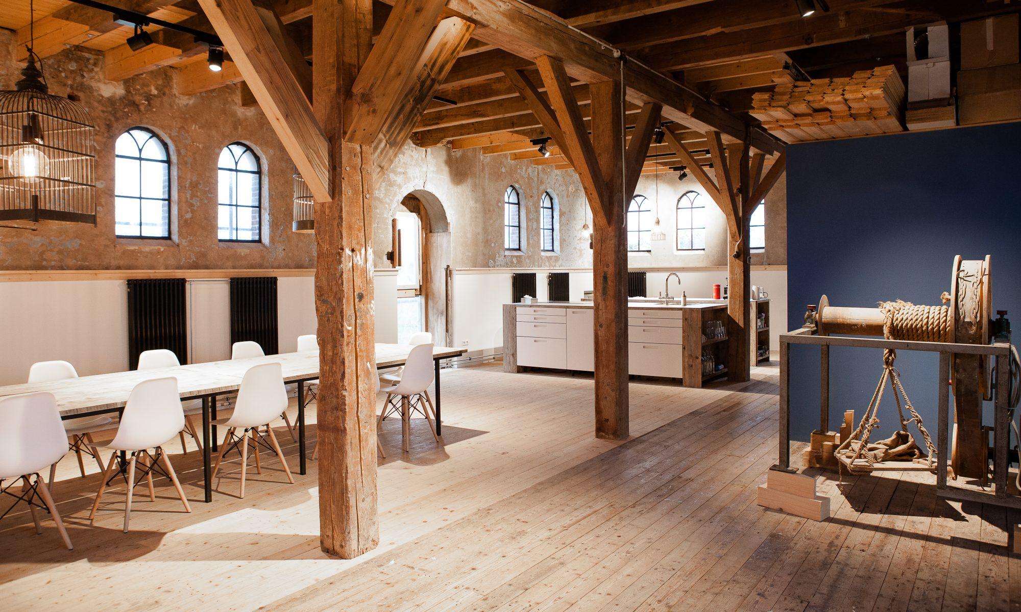 Graanmaalderij Gouderak - locatie voor vergaderingen en workshops.